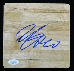 Willie Cauley-Stein Dallas Mavericks Signed 6x6 Floorboard JSA Authenticated