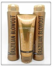 Brazilian Blowout Acai Anti-Frizz Pro Care Shampoo/Conditioner & Masque NEW SET