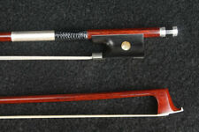 D PECCATTE Modell Geige Bogen Silber ironwood Violin Bow Silver 745MM 60-62g