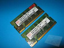 Hynix 2 GB (2x1GB) HYMP 112S64CP6-Y5 AB PC2-5300 DDR2 Laptop Memory