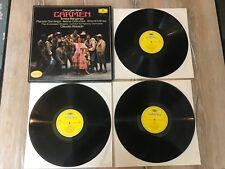 BIZET - CARMEN 3LP Box Set, London S/O, Abbado, Domingo, Berganza, DG 2709 083