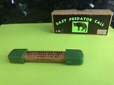 Vintage Dazy #30 Predator Call w/ Retail Box