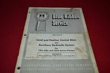 International Harvester 706 806 1206 Auxiliary Hydraulic System Manual DCPA8