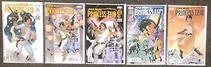 Star Wars Princess Leia # 1,2,3,4,5 2015 Marvel comics Waid Dodson complete set