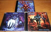 3CD set DIO ‎- Angry Machines / Master Of The Moon /‎ Strange Highways