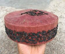 ANTIQUE BEAUTIFUL HANDCRAFTED CAP WITH STAR WORK ON IT- ROYAL LOOK