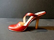 "Just the Right Shoe by Raine 2006 ""Candy Apple"" Red Stiletto Heel Euc"