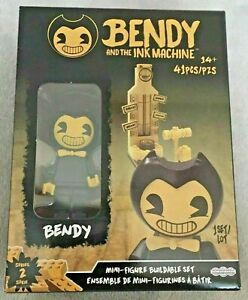 Bendy and the Ink Machine SERIES 2 BENDY 41pc Mini Figure Building Toy Set