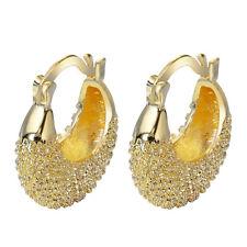 Women 18 k yellow gold filled Fashion Earring Ear Studs Jewelry XK-921