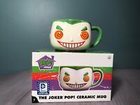 THE JOKER POP! CERAMIC MUG Funko Pop! Home DC Comics Legion of Collectors Excl