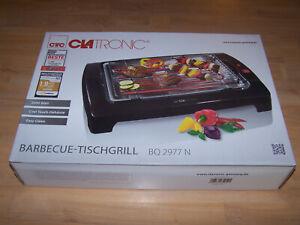 Clatronic Barbecue-Tischgrill BQ 2977 N für Tiefziehbox Colossos geeignet !!!