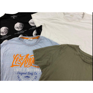 Wholesale Branded Clothing Job Lot Men's Used Grade A Tops T Shirts Clearance