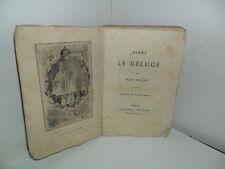 Avant le Déluge, par Jean Dolent. Eaux-Forte par Eugène Millet. Cournol, 1871.