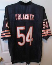 Brian Urlacher Chicago Bears Reebok NFL Jersey Size Large