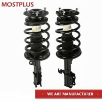 Set(2) Front Complete Struts w/ Coil Spring Assembly For 03-2008 Toyota Corolla