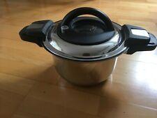 Cook's Essential Topf 3,5 l Dampfdruckgartopf Edelstahl Sichtfenster ZUBEHÖR
