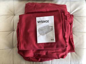 MYSINGE - IKEA - SOFA SLIP COVER - PLUS CUSHION COVERS - (5 PIECES) - BRAND NEW