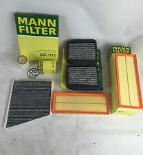 Mann-Filter filtro set filtro aceite filtro de aire carbón activado mercedes w211 e500 225 kw