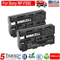 2X Quality Replacement Battery for Sony NP-F550 NP-F530 NP-F570 NP-F970 CCD-SC5