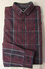 Karierte Maschinenwäsche Klassische Herrenhemden mit Kombimanschette-Ärmelart aus Baumwolle