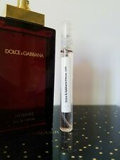 Dolce & Gabbana INTENSE for Women Eau de Parfum 10 ml in Glass Atomizer Spray
