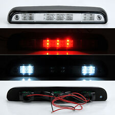 Ford F150 F250 F350 Bronco 92-96 Rear 3rd LED Brake Light Chrome Clear