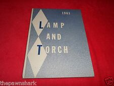 1961 Lamp and Torch Senior High School and Junior College Yearbook. Iola Kansas