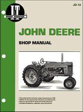 John Deere Tractor Repair Manual Model 50, 60 and 70 I&T JD-10