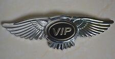 VIP 3D Auto Car Logo Wings Emblem Badge Bonnet Sticker Decal Deco DIY