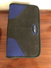 (2) Case Logic 92 Capacity CD/DVD Book: storage black wallet flip holder classic