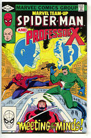 Marvel Team-Up 118 1982 NM- Amazing Spider-Man Professor X John Romita