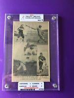 1909 Spalding Sports Photo Nap Lajoie(HOF) Indians Graded Mint Condition (Rare)