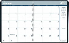 2022 2023 Two Year Calendar Planner Monthly Black Cover 85 X 11 Inches