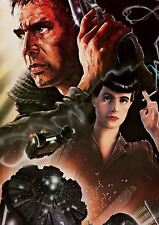 FILM BLADERUNNER SCI FI MOVIE ROBOTS FUTURE A3 ART PRINT POSTER YF5187