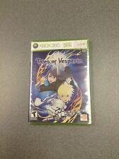 Tales of Vesperia (Microsoft Xbox 360, 2008)   NEW
