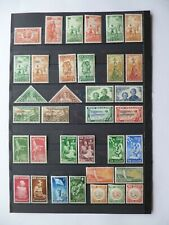 """NEW ZEALAND :- 1936 - 1955 : """" Health stamps."""" Good Mint selection."""