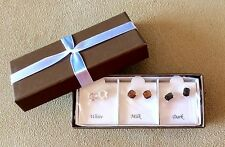 "NWT - BOXED SET OF 3 STUD EARRINGS - INSPIRED BY "" CHOCOLATE """