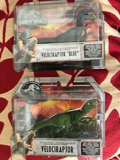Jurassic World  two Velociraptor figure sets