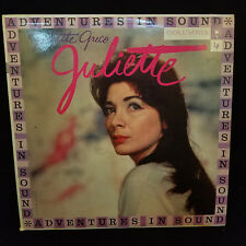 JULIETTE GRECO JULIETTE COLUMBIA WL 138 LP VINYL PURPLE LABLE 6 EYE