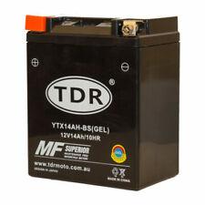 TDRMOTO YTX14AHBS 12V Motorcycle Battery