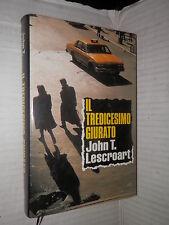 IL TREDICESIMO GIURATO John T Lescroart Euroclub 1996 libro romanzo narrativa di