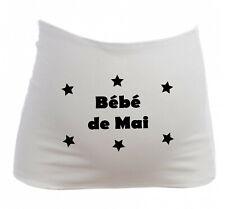 Bandeau Grossesse Maternité Bébé de Mai - Femme Enceinte future maman