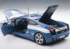 AUTOART GALLARDO LP560-4 POLICE CAR 1:18*Back in Stock! Nice**