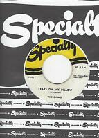 """THE CHIMES- """"TEARS ON MY PILLOW""""/ """"ZINDY LOU""""- SPECIALTY 555- EXC. CONDITION"""