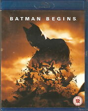 BATMAN BEGINS - Christian Bale, Michael Caine, Gary Oldman (Blu-ray & DVD 2012)