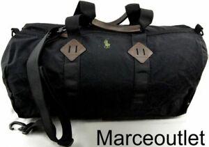 Polo Ralph Lauren Men's Lightweight Mountain Duffel Bag, Black