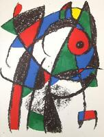 Joan Miro Lithographe Volume II - Original Mourlot Lithograph I M.1037 - 1975