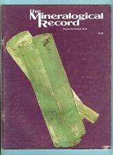 Mineralogical Record Magazine, Vol. 6 No. 3, May-June 1975, Bertrandites of Ct.