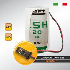 BEGHELLI LSH20 3,6V 13Ah Batteria al Litio SAFT