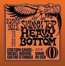 Ernie Ball Skinny Top Heavy Bottom 10-52 2215 Free P&P
